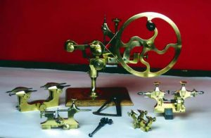 Antique clockmaking tools still in use today