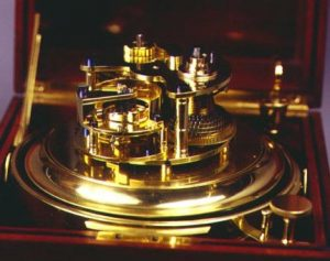 Eight day marine chronometer by Barraud & Lunds, London, ca. 1880